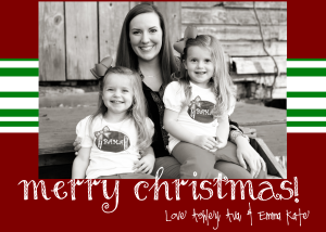 Ashley Christmas Card 2012