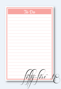 to do list with border lines and background and logo